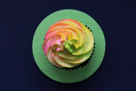 Airbrush Cupcakes