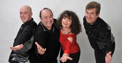 AlbTRAUM – Die Party-Band aus Füssen im Allgäu: ...das sind Brigitte, Richard, Norbert und Mario!