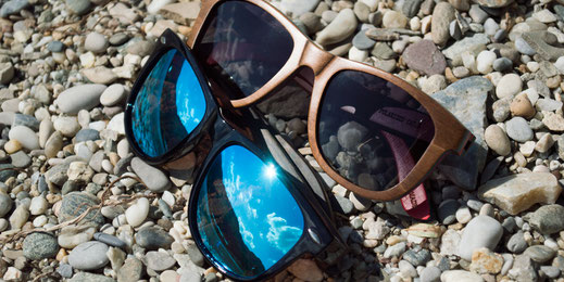 Wayfarer Brillen aus verschiedenen Materialien