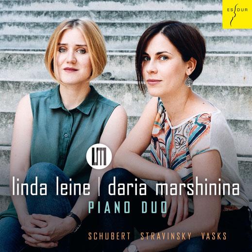 Linda Leine | Daria Marshinina Piano Duo – Schubert | Stravinsky | Vasks