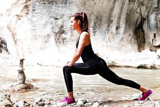 Ohne die Einschränkungen durch Schmerzen, können wir Bewegung wieder als Wohltat erfahren.
