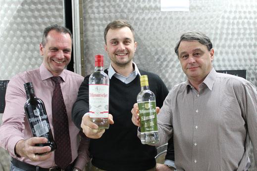von links: Andreas Meisner, Benjamin Meisner, Michael Meisner
