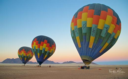 Ballon Reisen mit dem Reiseleiter Thorsten Hansen
