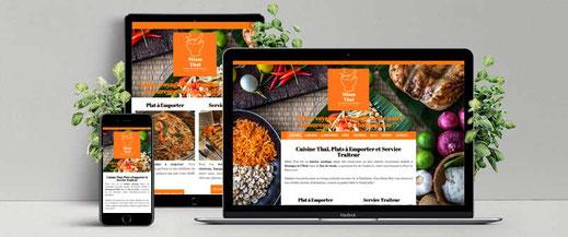 site Internet traiteur thai à Montigny le tilleul