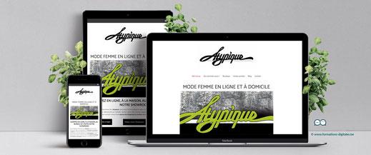 site internet atypique webshop