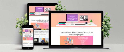 site Internet formations digitales chimay couvin