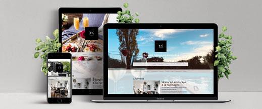site internet gîte Philippeville