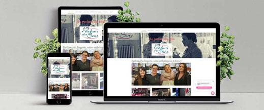 site Internet parfumerie chimay