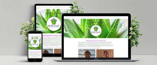 site Internet distributrice Forever produits Aloe Vera Couvin