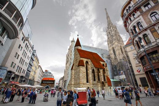 Stephansplatz - AR-Tour Wien ArchäoNOW - Franco Lanfur