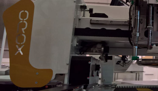 OROX Italy | EVAS Electronic Vacuum Sensor system for Flexo Tailor cutting machine