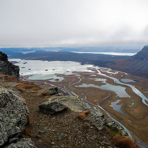 Rapadal Sarek Lappland