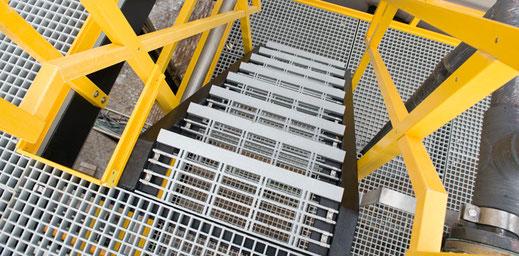 Escalera Torre de FRP Pultruido