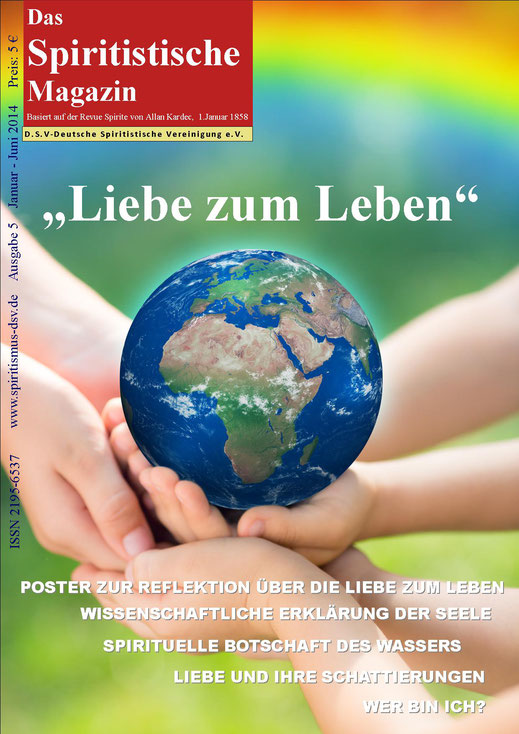 Cover Spiritistisches Magazin Nr. 05