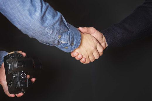 Vereinbarung zwischen Fotograf und Auftraggeber