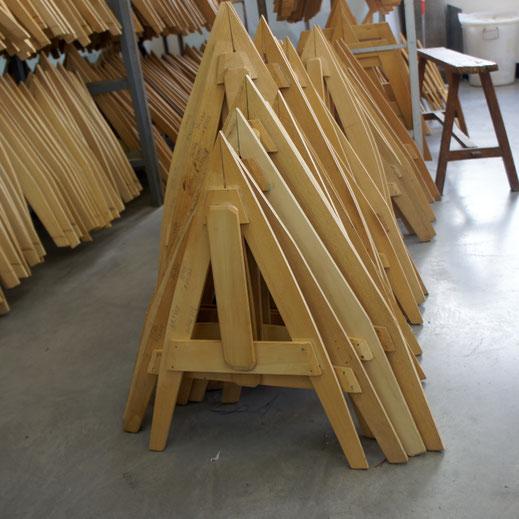 こま裁断用の木型