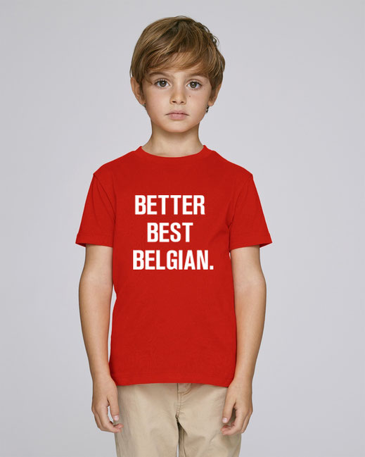 """BETTER BEST BELGIAN"" TSHIRT 39€"