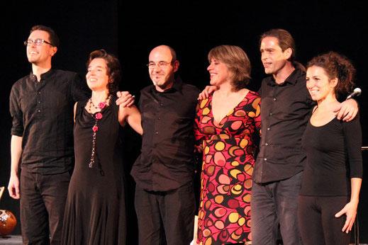 Rodrigo M. Munuera, Carmen Ros, Isidro Solera, Ana Vassalo, Julio García y Sara Rodríguez