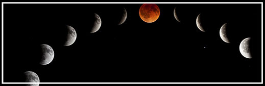 新月、満月オープンハートカラー