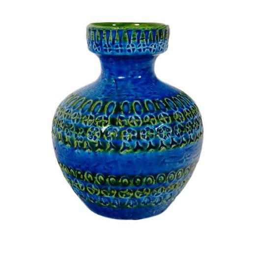Keramikvase, Aldo Londi, Bitossi Italien, 60er Jahre