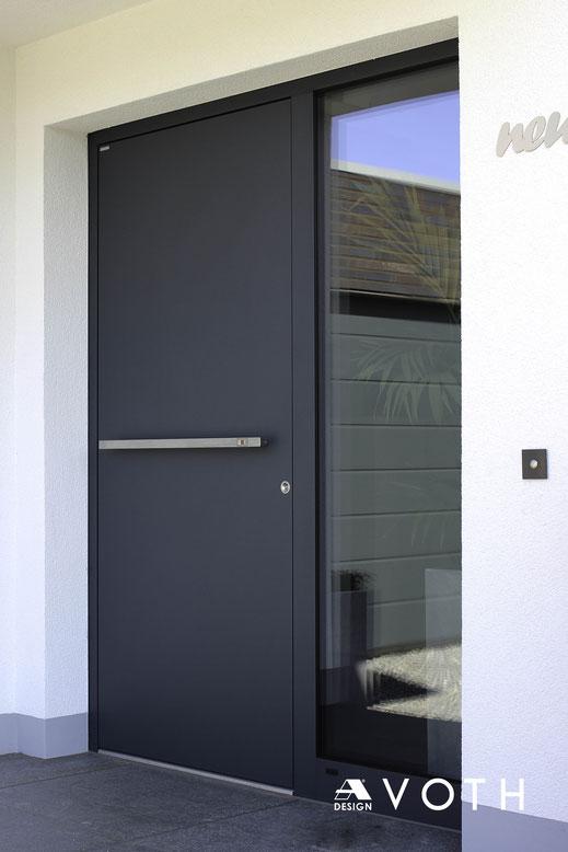 Design Haustüren aus Schüco Aluminium in Düren