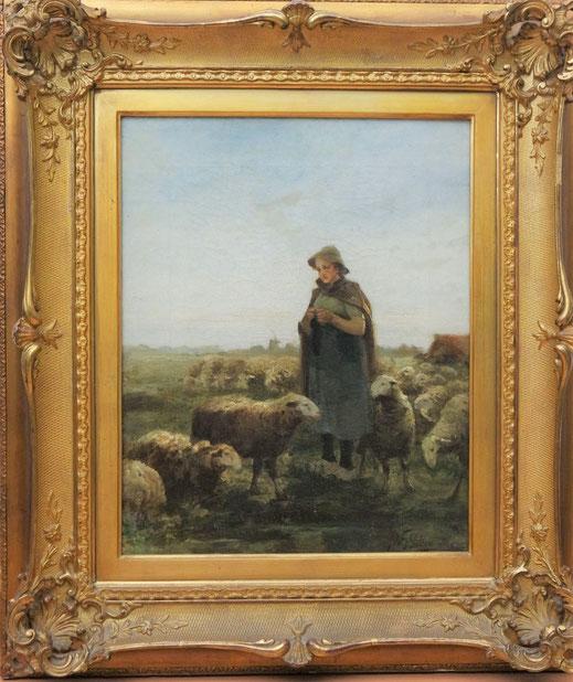 te_koop_aangeboden_een_schilderij_van_de_nederlandse_kunstschilder_jacobus_frederik_sterre_de_jong_1866-1920