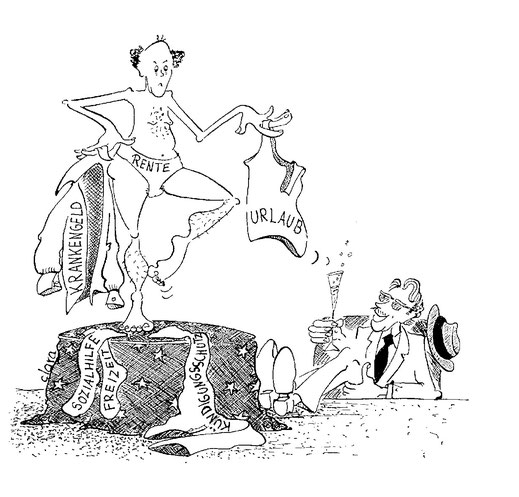 Beschneidung der Arbeitsnehmerrechte