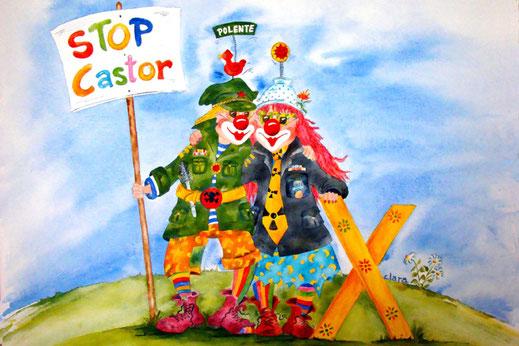 Stop Castor - die Clownsarmee