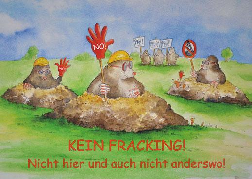 Kein Fracking