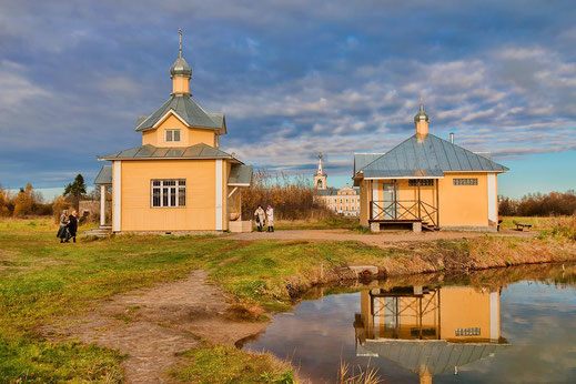 Источник Введено-Оятского монастыря - лечит многие заболевания