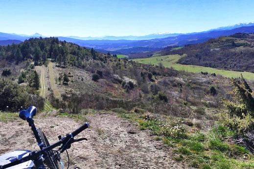 Pech des 3 Seigneurs - Espace VTT Aude en Pyrénées - Alaigne