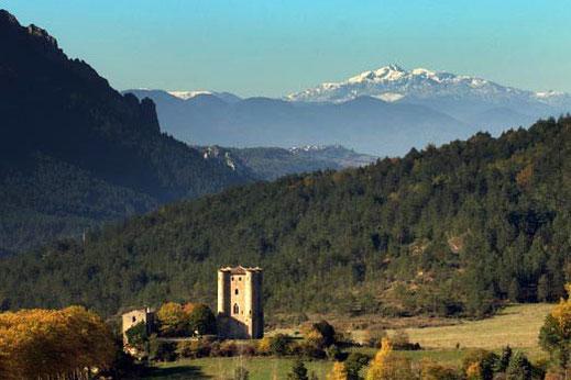 Village et Donjon d'Arques
