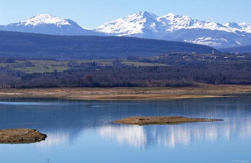 Lac de Montbel - Espace VTT Aude en Pyrénées