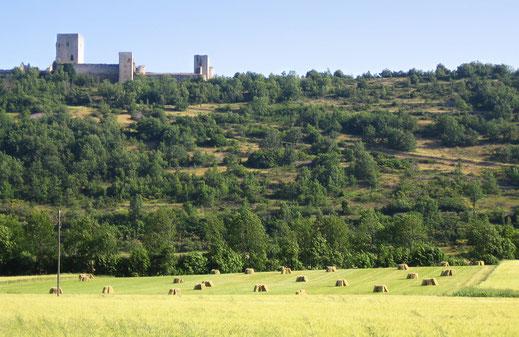 Château de Puivert - Espace VTT Aude en Pyrénées