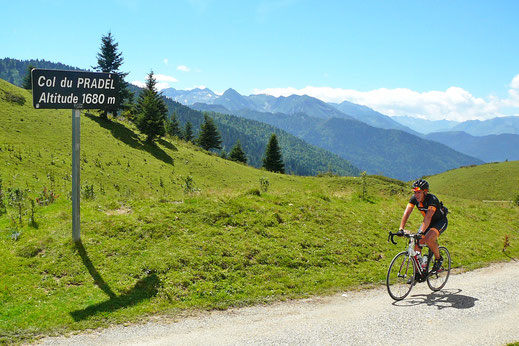 Espace Cyclosport Aude en Pyrénées - Col du Pradel