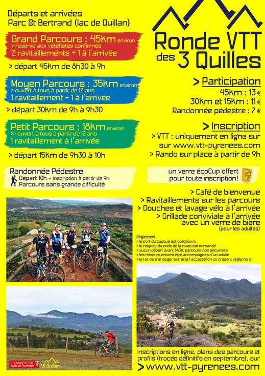 programme de la Ronde VTT