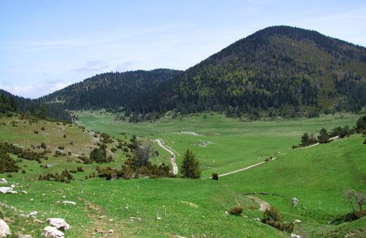 Pla du Boum - Pays de Sault - Espace VTT Aude en Pyrénées