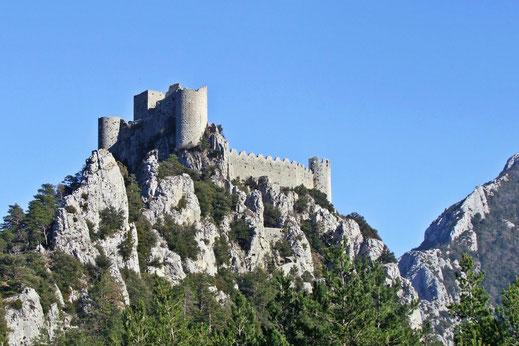 Château de Puilaurens - Espace VTT-FFC Aude En Pyrénées