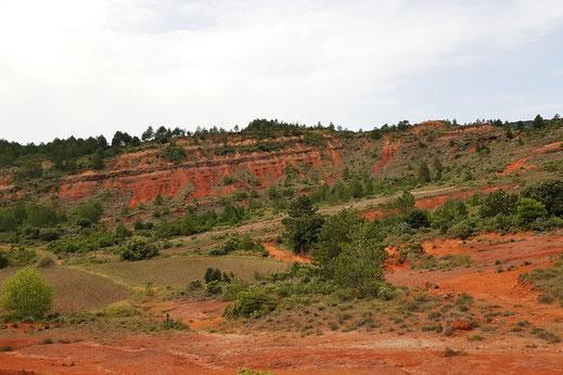 Terres Rouges de Payrolles - Espace VTT Aude en Pyrénées