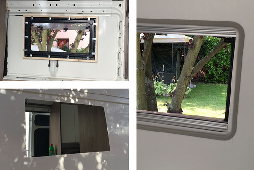 Wohnmobilausbau - Der Einbau der Fenster