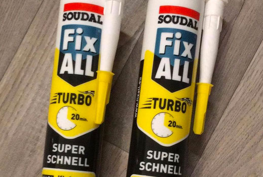 Wohnmobilausbau - Soudal Fixall Turbo Super schnell