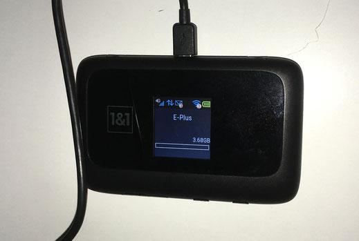 Wohnmobilausbau - iPhone WLAN Router