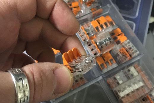Wohnmobilausbau - Verwendung von Wago Klemmen