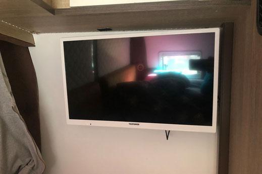 Wohnmobilausbau - Der Fernseher TV