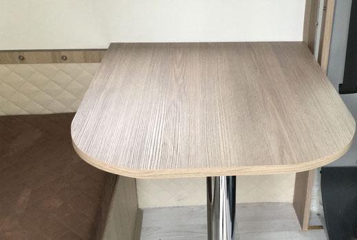 Wohnmobilausbau - Der Tisch der Dinette