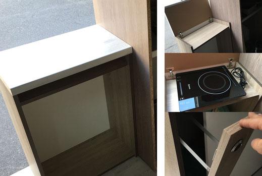 Wohnmobilausbau - Die Küchenerweiterung mit Herdplatte