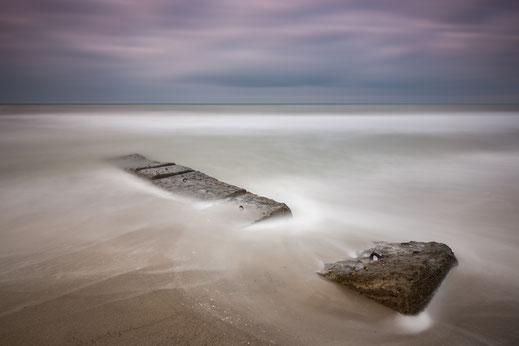 Ahrenshoop, Ostsee, Baltic Sea, longexposure, Langzeitbelichtung, Holger Nimtz, Fotografie, photography, seascape, Minimalismus, minimalist, minimalism,