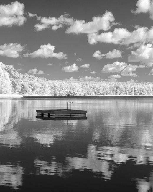 Infrarotfotografie, Uckermark, Infrarot, Holger Nimtz, Infrared, Fotografie, Photography, Infrarotaufnahme, Fotokunst, Moderfitzsee,,