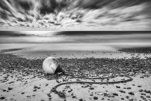 Bjerregard, Boje, black and white, monochrome, Denmark, Dänemark, Nordsee, North Sea, longexposure, Langzeitbelichtung, Holger Nimtz, Fotografie, photography, seascape,