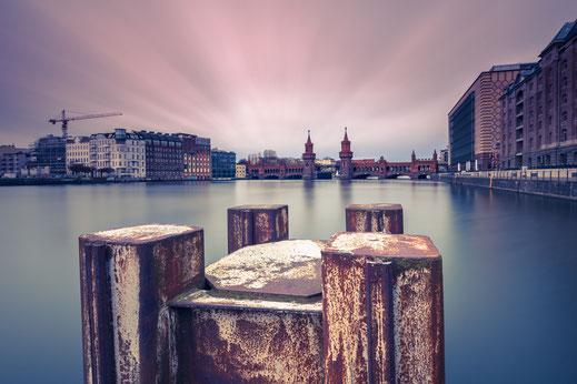 Osthafen, Berlin, Langzeitbelichtung, longexposure, Spree, Mediaspree,
